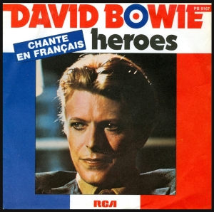 Bowie, Heroes, 45 rpm, photo by Affendaddy. CC-BY-NC-SA.