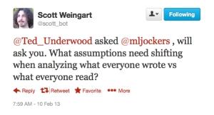 Scott Weingart tweet.