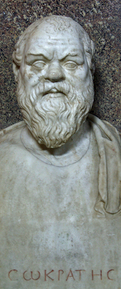 """Socrates,"" photo by Sebastià Giralt, CC-BY-NC-SA"